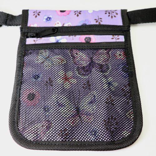 Purple Butterfly Pouch rear