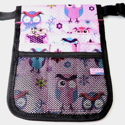 Owl with Dots Nurses Pouch